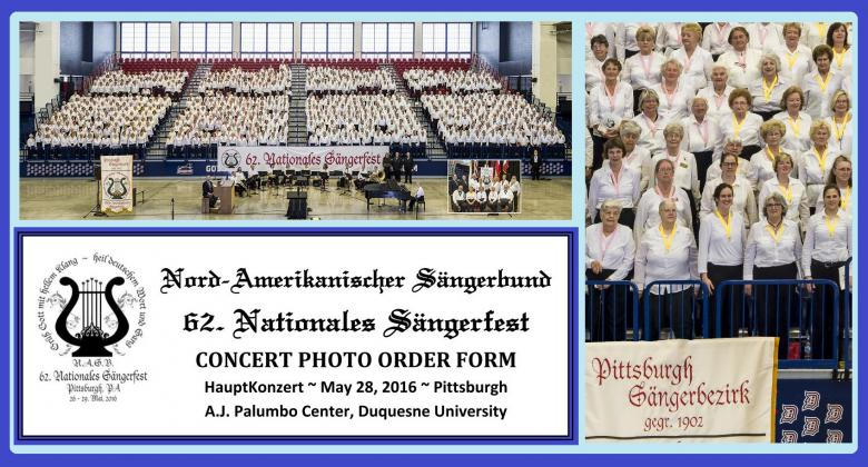 2016 National Saengerfest Photo Order